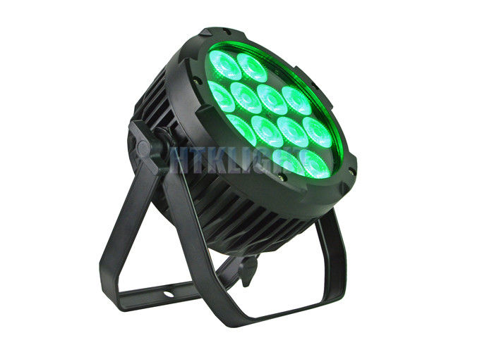 12x15Watt Rgbwa 5 In 1 Waterproof LED Par Light  With 60 Degree Beam Angle